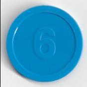 Voorkant munt 6
