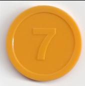 Voorkant munt 7